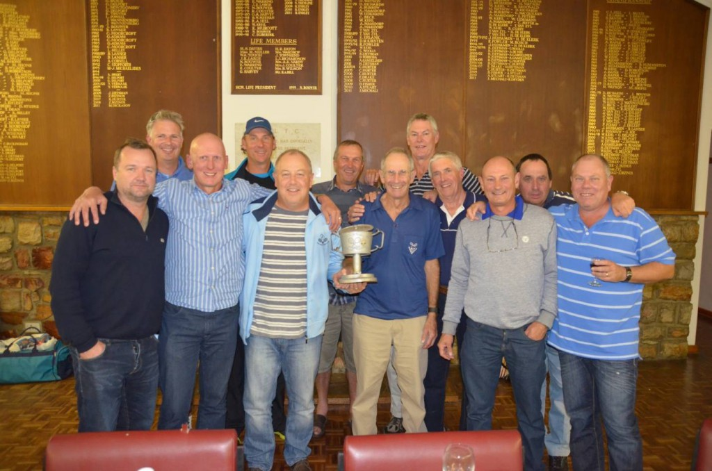 Pinelands Vets with the Pie Club Cup